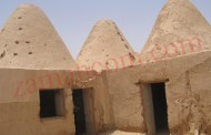 أقدم مدرسة مبنية من طين تعلوها 8 قباب طينية في الجفر (1959)/ صور نادرة