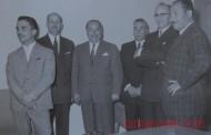 الملك حسين يفتتح أول مبنى خاص لإدارة البنك الأهلي (صور/ 1960)