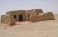 العمارة الطينية في الصحراء (صور لمساكن من قرية الجفر القديمة)