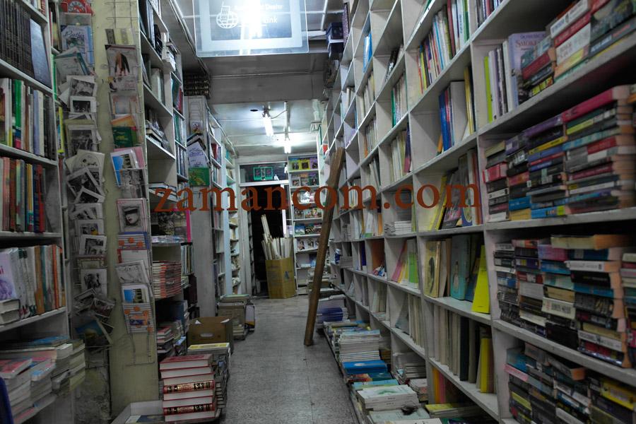 جانب من المكتبة الآن